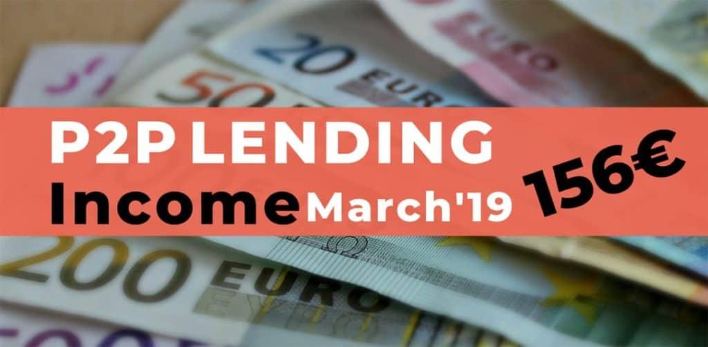 P2P Lending Income March 2019
