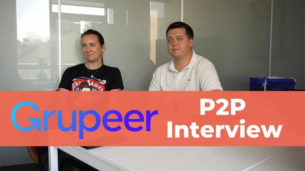 P2P Interview with Grupeer