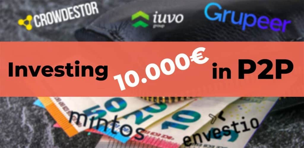 How to invest 10000 euro in p2p lending - allocation