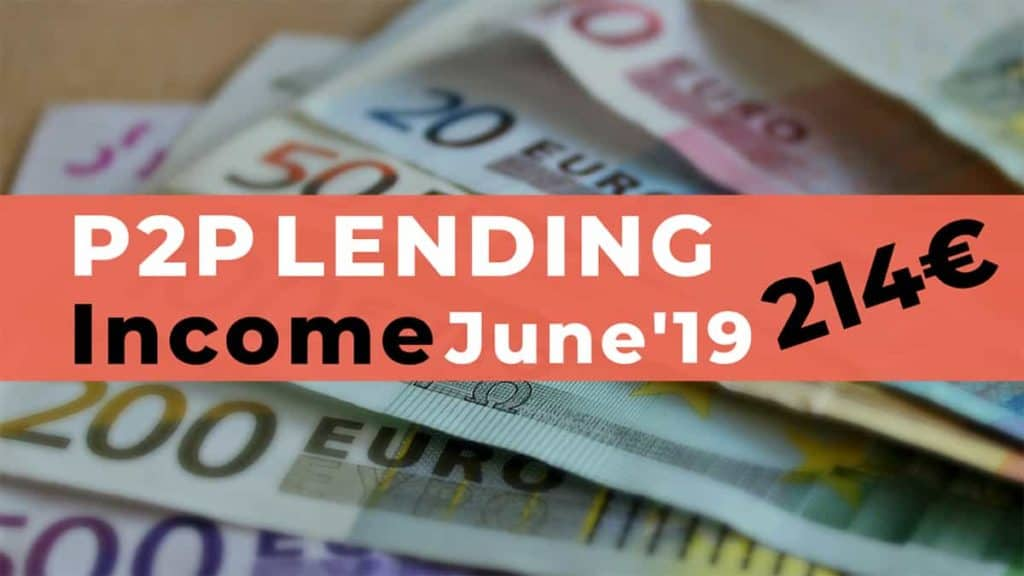 P2P Lending Income June 2019