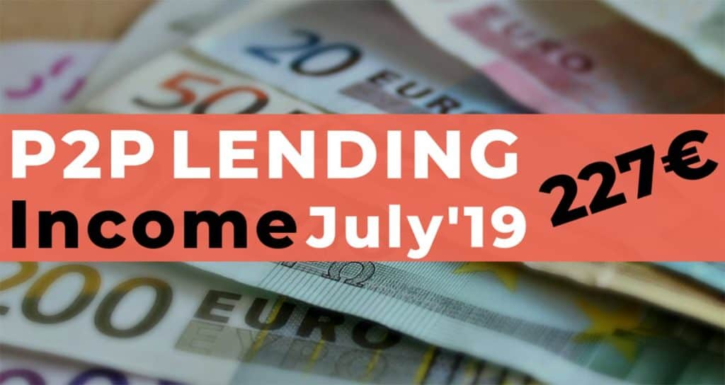 P2P Lending Income July 2019
