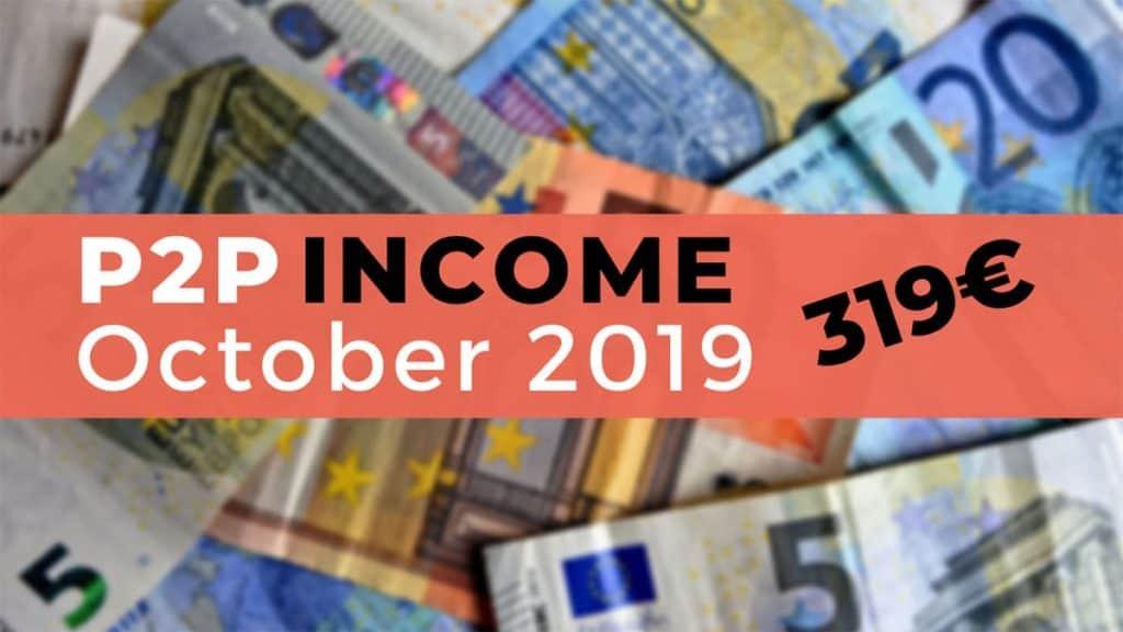 peer to peer lending income october 2019