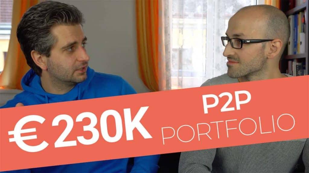 230k euro p2p lending portfolio