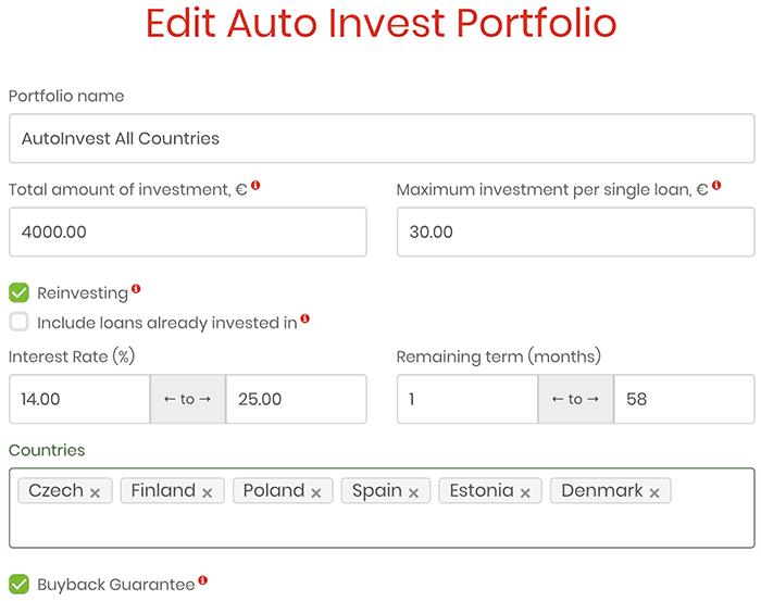 lendermarket auto invest new